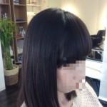 3ヶ月周期の縮毛矯正&カラー