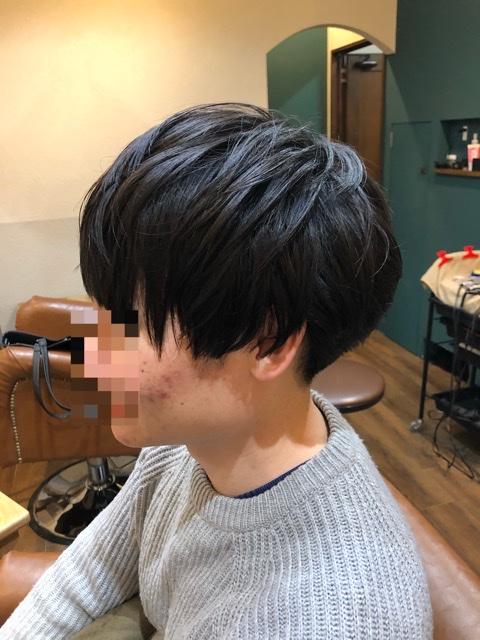 メンズ縮毛矯正のパターン