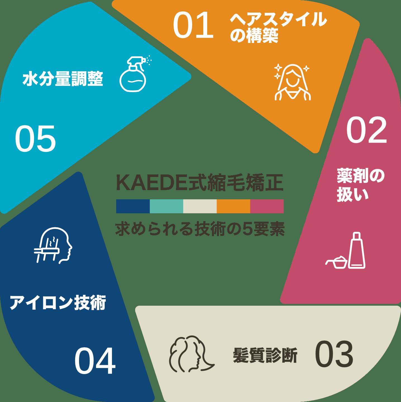 KAEDE式縮毛矯正に求められる5つの技術要素