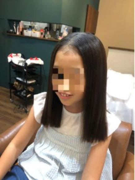 小3のときの髪の毛