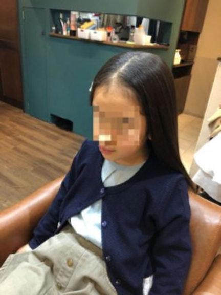 小2のときの髪の毛